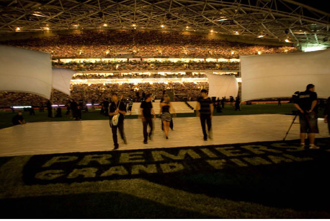 NRL. Over the years, starting with the launch of Super League in 1997, I have created many events for The National Rugby League from large scale dinners to nine Grand Finals. Grand Final – Early Years, Grand Final 06,Grand Final 07, Grand Final 08, Season Launch 08, Centenary of Rugby League Dinner, Super League