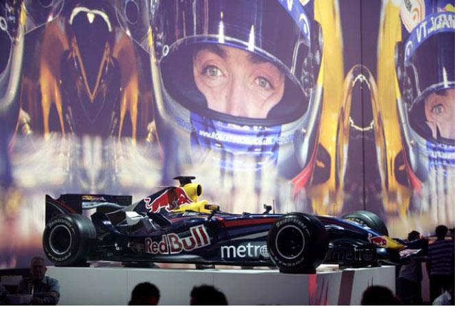 INTERNATIONAL LAUNCH OF RED BULL RACING FORMULA ONE, Melbourne 05, Melbourne 07, Melbourne 08